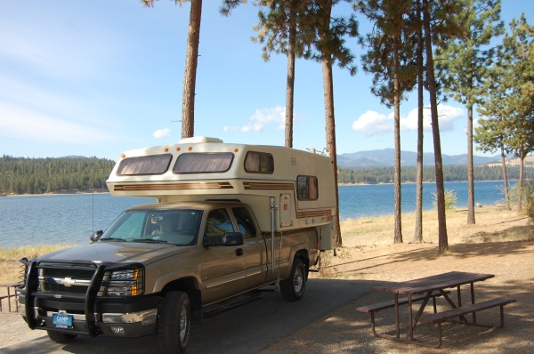 Lake Roosevelt - Gifford campground