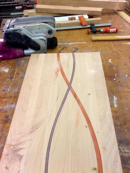 Two stripes so far ...