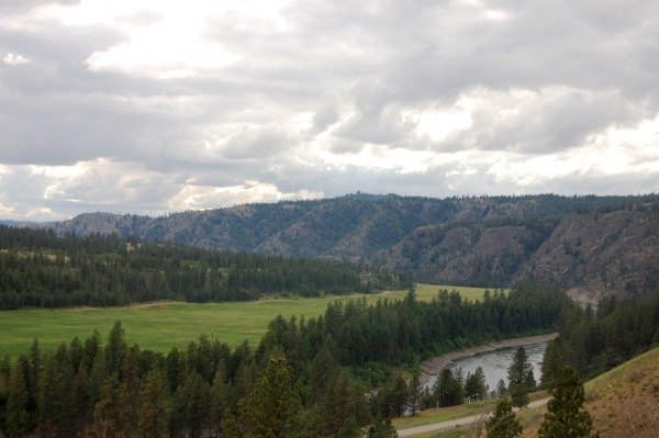 In the next days, we continued east through the Spokane Indian Reservation