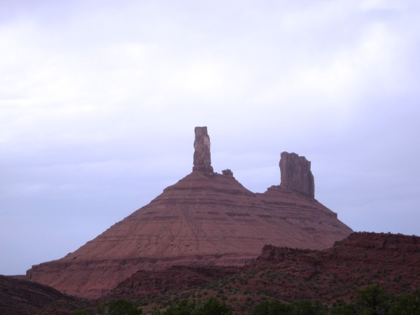... and the red rocks of Moab.