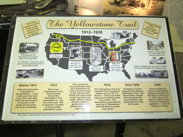 Click to see the Yellowstone Trail ...