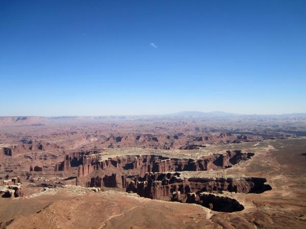 Deep canyons ...