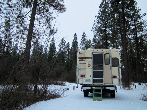 Private campsites again!