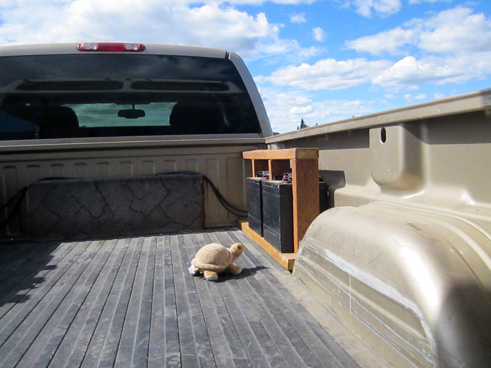 RV Net Open Roads Forum What did you do to your truck today
