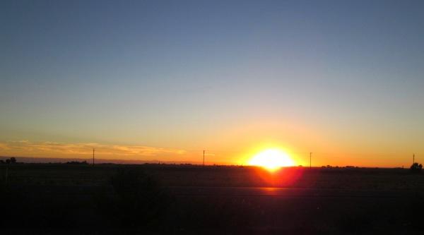 ... sunrises ...