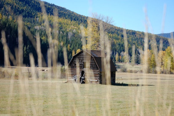 ... oh, just another picturesque barn ...